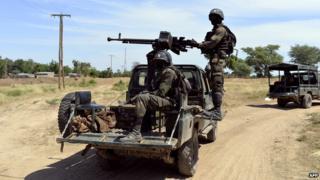 Cameroonian troops