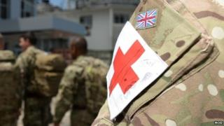 British military personnel