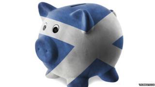 Scottish piggy bank