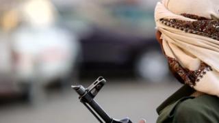 Houthi gunman
