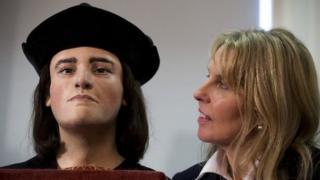 Richard III facial reconstruction and Philippa Langley