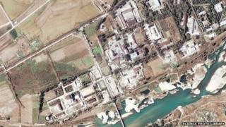 Satellite image of Yongbyon