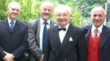 Don Mandley, Chris Mandley, their late father Ronald and their late brother Rob