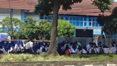 anak sekolah Bogor