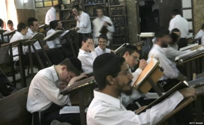 A yeshiva in central Israel