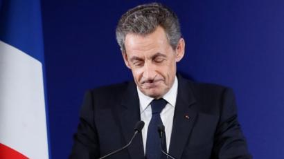 Nicolas Sarkozy admits defeat, 20 November