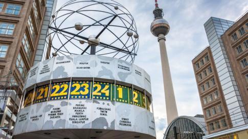 Relógio em Berlim