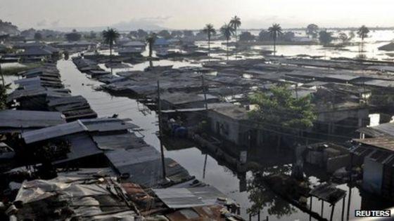 NIGERIA EN ALERTA ROJA POR INUNDACIONES