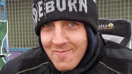 David Holmes: Three million hits for motorcyclist's crash film - BBC News - _77411322_david_holmes