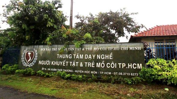 Trung tâm dạy nghề cho người khuyết tật và trẻ mồ côi thành phố Hồ Chí Minh