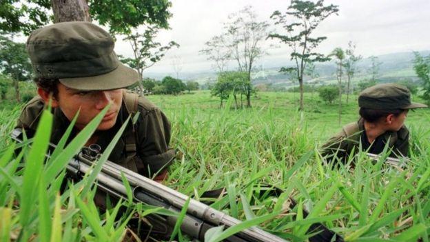 FARC gerillaları, 25 Nisan 1998
