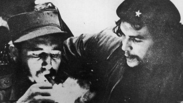 Фидель Кастро и Че Гевара