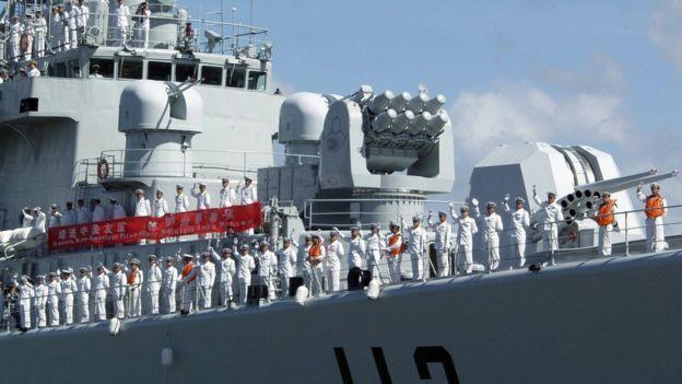 Trung Quốc tăng cường năng lực hải quân