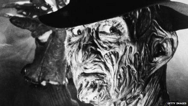 Robert Englund as Freddy Krueger of A Nightmare on Elm Street in 1989