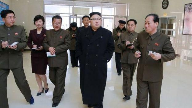 Kim Jong-un là lãnh tụ hiện nay tại Bắc Hàn