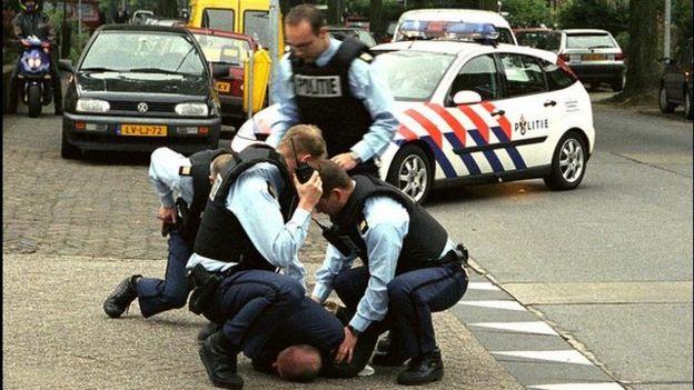 Arresto del asesino de Pim Fortuyn