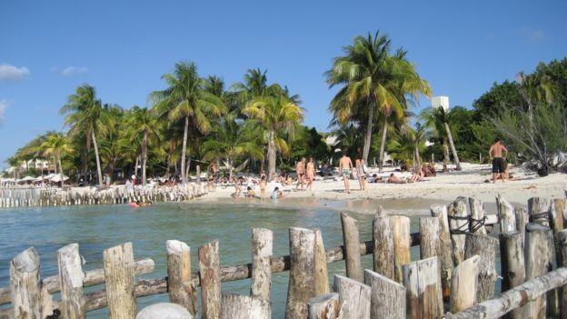 Playa Norte, Isla Mujeres, México.
