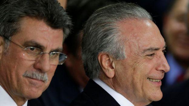 Romero Jucá e Michel Temer