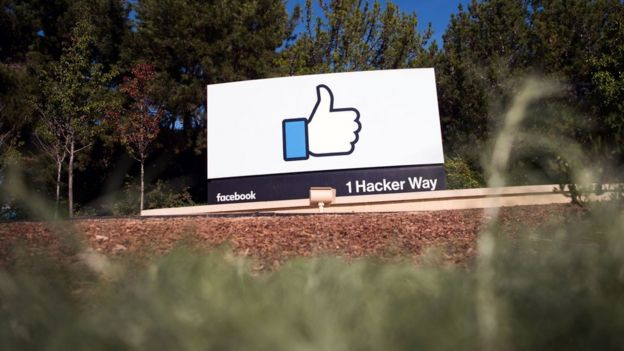 Facebook's 'like' sign at its Menlo Park campus