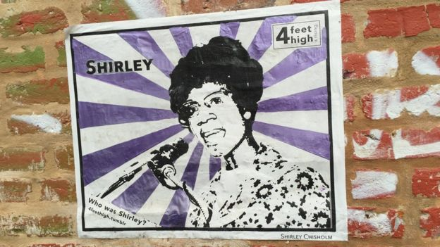 Shirley Chisholm art in New Orleans