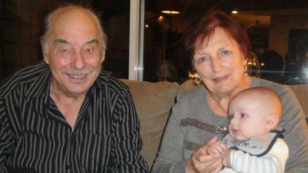 Wolfram y Anita Gottschalk.