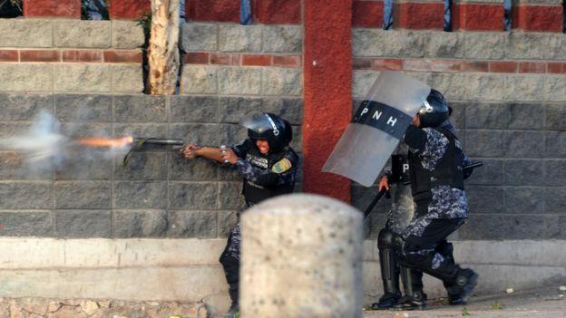 Policía de Honduras