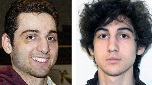 Tamerlan Tsarnaev y Dzhokhar Tsarnaev
