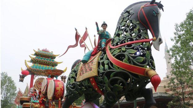 Disney na China