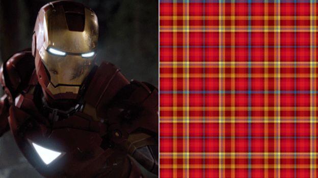 Iron Man and tartan
