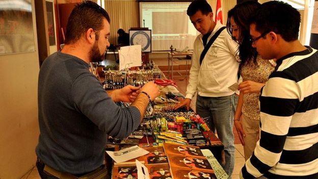 Exposición organizada por el Centro de Intercambio Cultural y Educativo México - Turquía.
