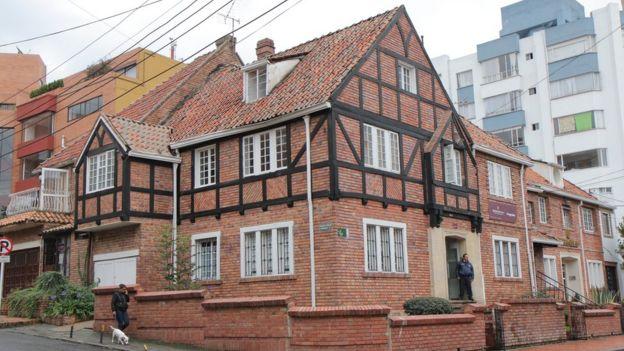 Casa estilo Tudor en Bogotá.