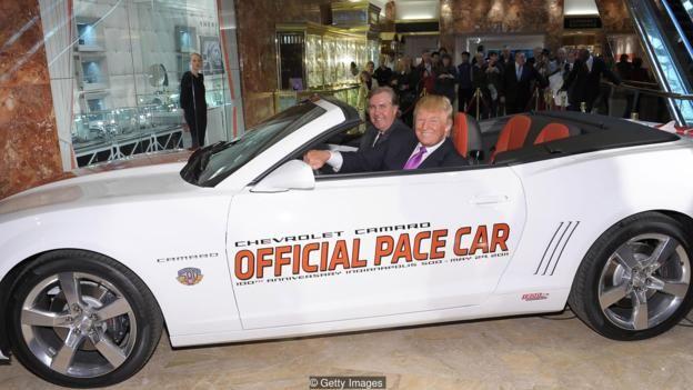 Ông Trump có bộ sưu tập xe cổ phong phú