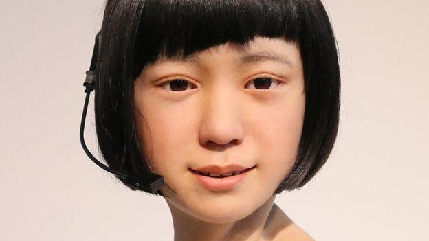 La robot-humanoide japonés Kodomoroid