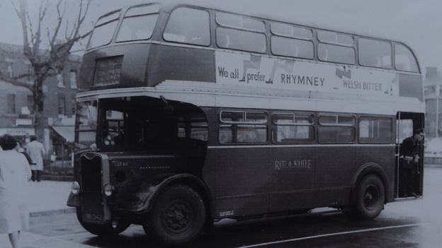 The route one bus