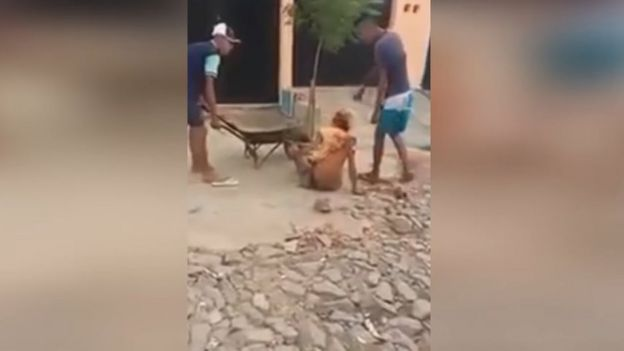 El video de la golpiza a Dandara dos Santos