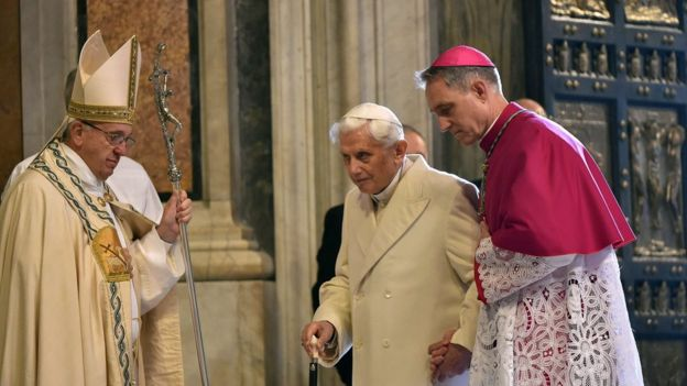 Pope Francis opens St Peter's Holy Door to launch jubilee