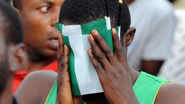 A Super Eagles fan in Lagos, Nigeria - 2014