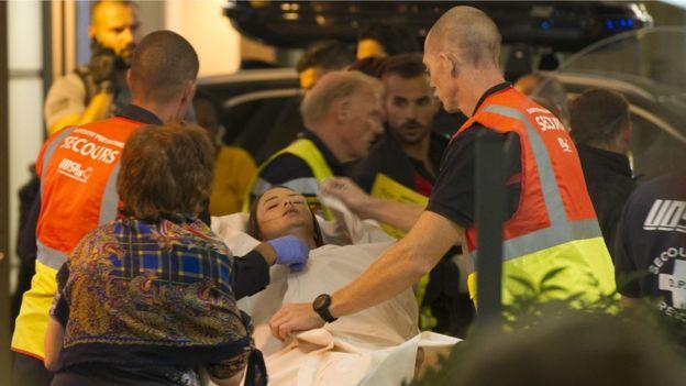 Atención a heridos