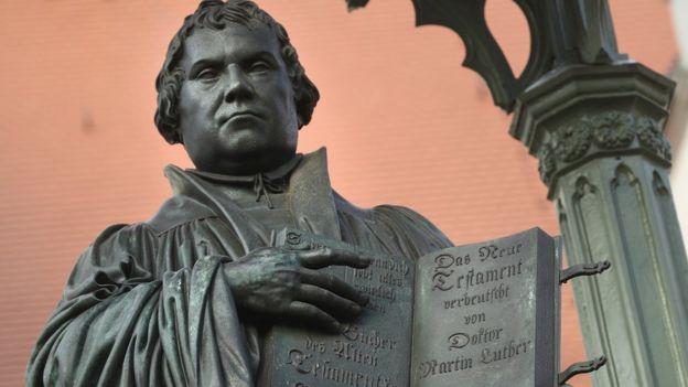 Estatua de Martín Lutero
