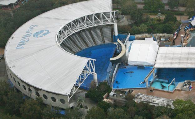 SeaWorld, Orlando, Estados Unidos.