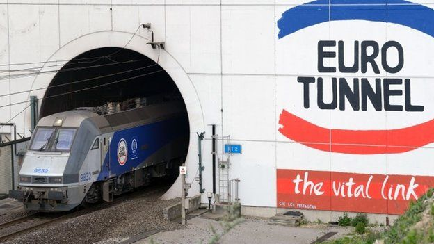 Eurotunnel train