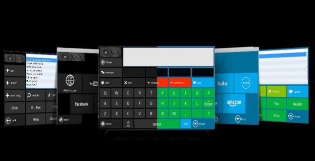 Eyegaze Edge control screens