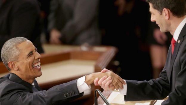 Obama and Paul Ryan