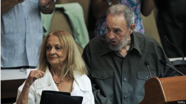 Fidel Castro e Dalia Soto del Valle
