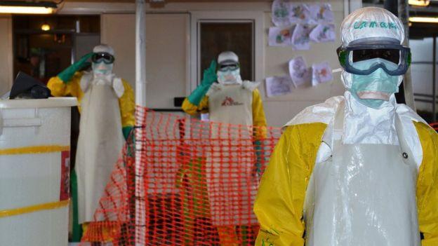 Epidemia de ébola en Guinea.
