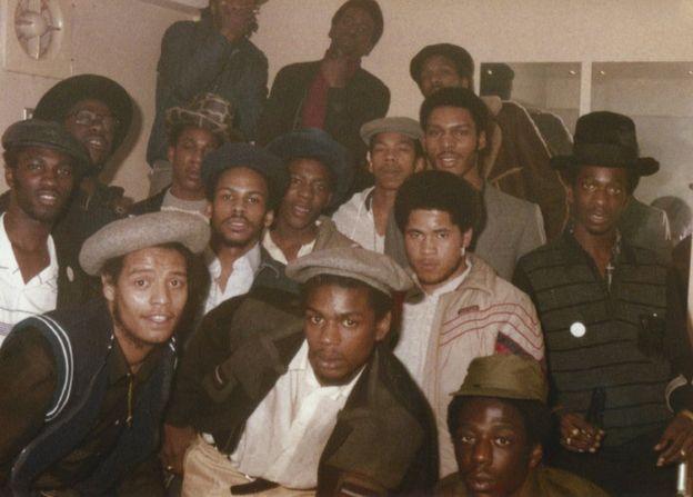 Saxon crew, 1983