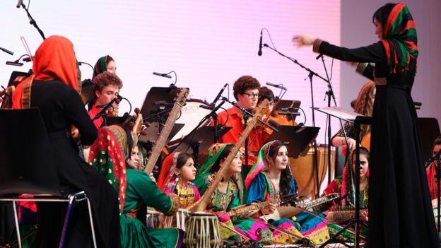 گروه موسیقی دختران افغانستان