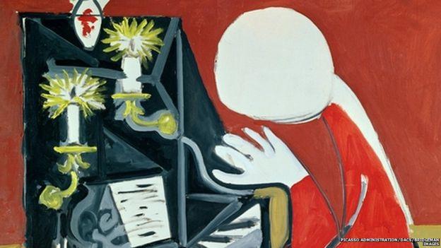 O Pianista, obra de Pablo Picasso