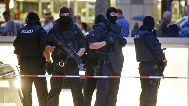 Policía Múnich.