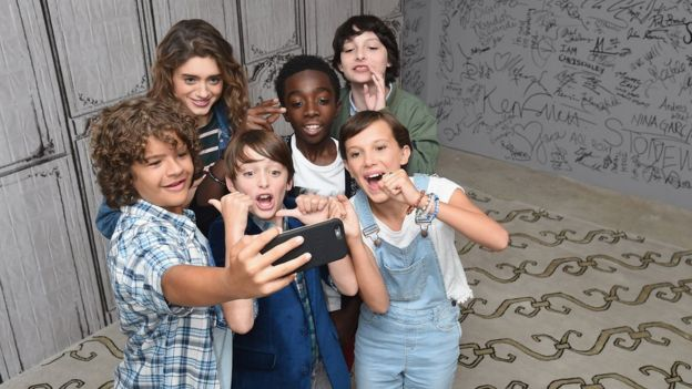 Actores de Stranger Things
